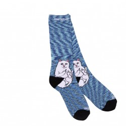 CHAUSSETTES RIPNDIP LORD NERMAL - NAVY SPECKLE