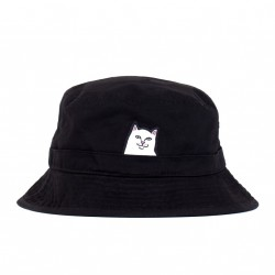 BOB RIPNDIP LORD NERMAL BUCKET HAT - BLACK