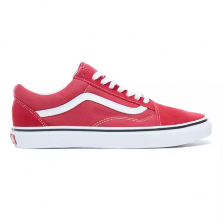 CHAUSSURES VANS OLD SKOOL - CRIMSON TRUE WHITE