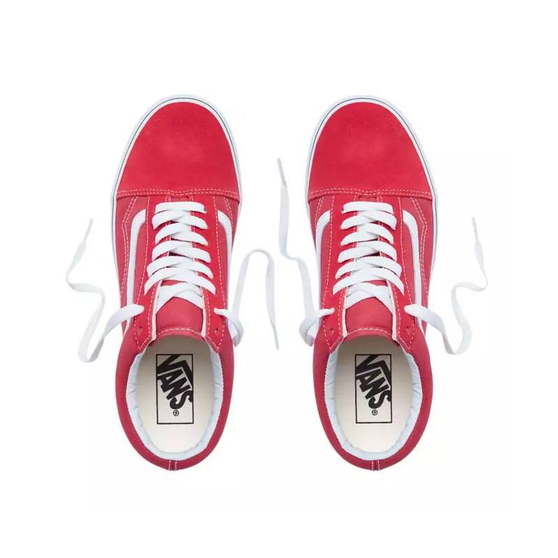 Chaussures Vans Old Skool Crimson True White