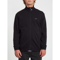 SWEAT VOLCOM VEELINE ZIP - BLACK