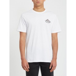 T-SHIRT VOLCOM BLOOM OF DOOM SS - WHITE
