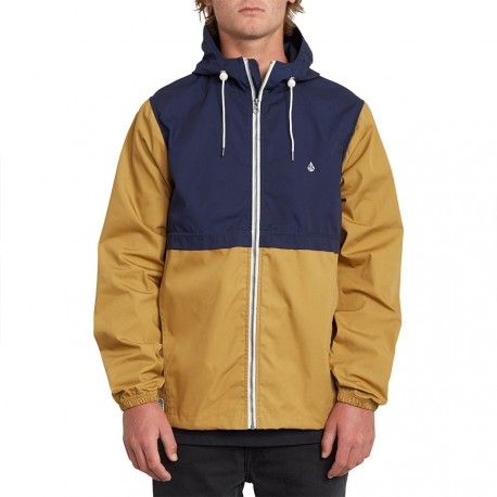 VESTE VOLCOM HOWARD HOODED - BRONZE
