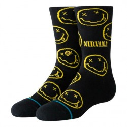 CHAUSSETTES STANCE NIRVANA FACE KIDS