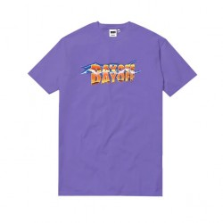 T-SHIRT DAYOFF BACK TO THE TURFU - PURPLE