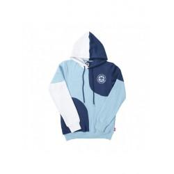 SWEAT BENIBLA HOODIE PATCHWORK - BLUE
