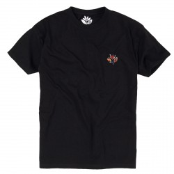 T-SHIRT MAGENTA SHAPES PLANT TEE - BLACK