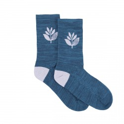 CHAUSSETTES MAGENTA PLANT SOCKS - TEAL