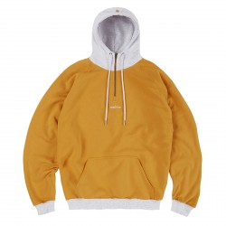 SWEAT MAGENTA COSMO HOODIE - YELLOW