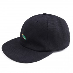 CASQUETTE MAGENTA TOUCTOUC 6P - BLACK DENIM