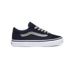 CHAUSSURES VANS OLD SKOOL JUNIOR - DRESS BLUES DRIZZLE