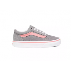 CHAUSSURES VANS OLD SKOOL JUNIOR - FROST GREY / PINK ICING