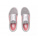 CHAUSSURES VANS OLD SKOOL JUNIOR - FROST GRY/PINK ICING