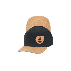 CASQUETTE PICTURE ORGANIC LINE BASEBALL CAP - BLACK