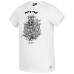 T-SHIRT PICTURE ORGANIC D&S CABIN - WHITE