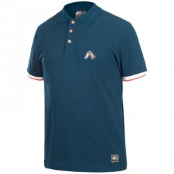POLO PICTURE ORGANIC TRAPPER - DARK BLUE