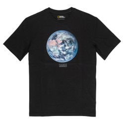 T-SHIRT ELEMENT X NAT GEO EARTH - FLINT BLACK