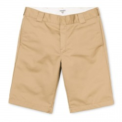 SHORT CARHARTT WIP MASTER SHORT - LEATHER RINSED