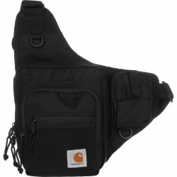 SACOCHE CARHARTT WIP DELTA SHOULDER BAG - BLACK