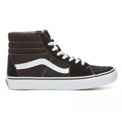 CHAUSSURES VANS SK8-HI JUNIOR - BLACK WHITE