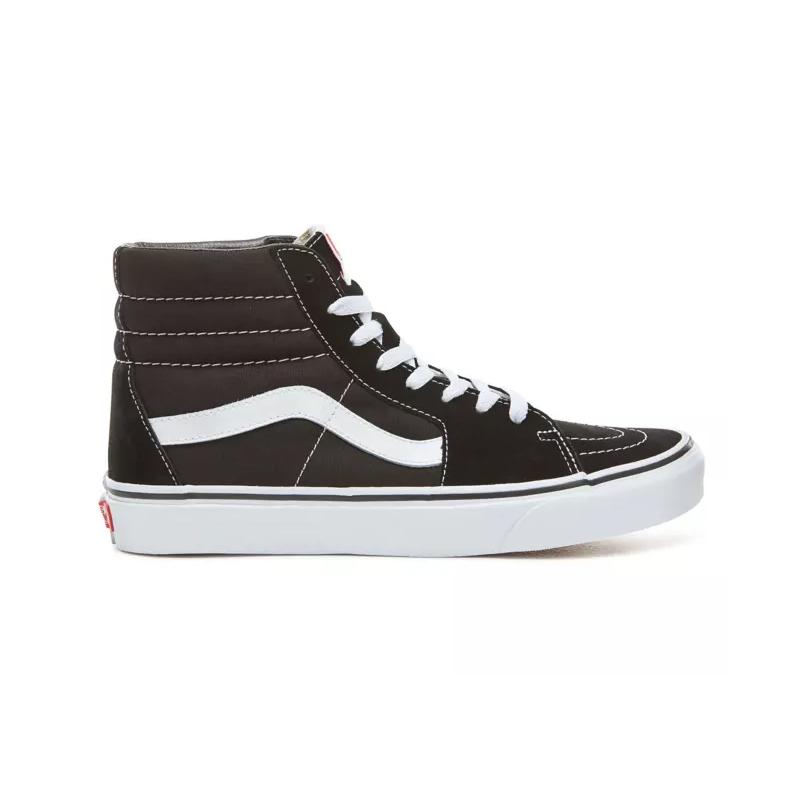 Chaussures Vans Sk8 hi Junior Black White