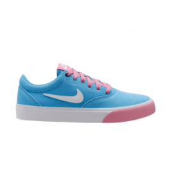 CHAUSSURES NIKE SB CHARGE CANVAS - UNIVERSITY BLUE WHITE MAGIC FLAMINGO