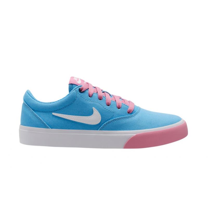 Chaussures Nike Sb Charge Canvas - University Blue White Magic Flamingo