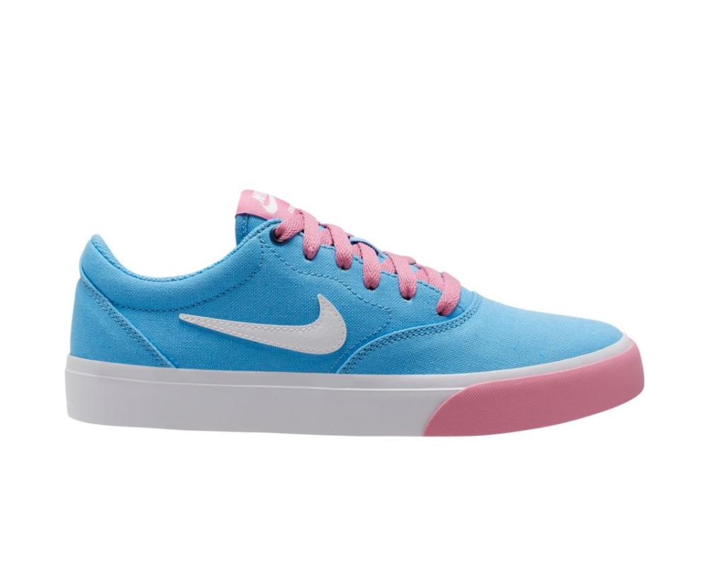Chaussures Nike Sb Charge Canvas - University Blue White Magic ...