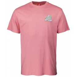 T-SHIRT SANTA CRUZ NOTE A DOT - ROSE PINK