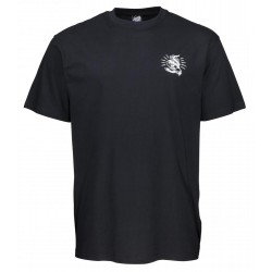 T-SHIRT SANTA CRUZ SNAKE BITE - BLACK