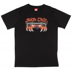 T-SHIRT SANTA CRUZ YOUTH UNKNOWN - BLACK