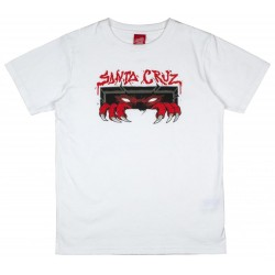 T-SHIRT SANTA CRUZ YOUTH UNKNOWN - WHITE