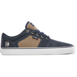 CHAUSSURES ETNIES BARGE LS - NAVY BROWN WHITE