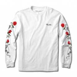 T-SHIRT PRIMITIVE LAST DANCE LS - WHITE