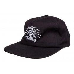 CASQUETTE SANTA CRUZ CAP SNAKE BITE - BLACK