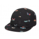 CASQUETTE VANS OLD SKOOL DAVIS 5 PANEL - BLACK METAMORH