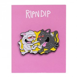 PINS RIPNDIP HASH BROS PIN - MULTI