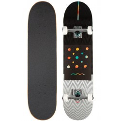 BOARD COMPLETE GLOBE G1 NINE DOT FOUR 8 - BLACK WHITE