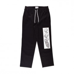 PANTALON WELCOME GLAM DRAGON - BLACK