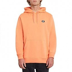 SWEAT VOLCOM SINGLE STONE HOOD - SALMON