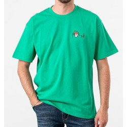 T-SHIRT POLAR LOGO CASTLE FILL - GREEN