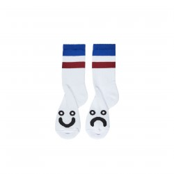CHAUSSETTES POLAR HAPPY SAD STRIPES - BLUE