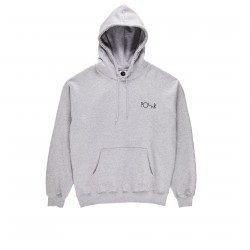 SWEAT POLAR FILL LOGO HOODIE - SPORT GREY