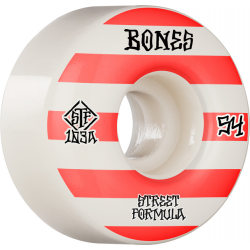 ROUES BONES STF 54MM V4 PATTERNS 103A WHITE