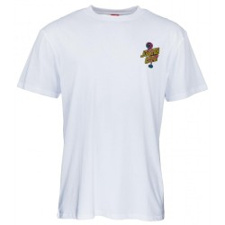 T-SHIRT SANTA CRUZ GLOW DOT - WHITE