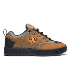 CHAUSSURES DC SHOES LUKODA X BRONZE 56K - BROWN GREEN BLACK
