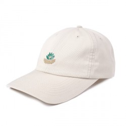 CASQUETTE MAGENTA FIELD PLANT DAD HAT - LIGHT BEIGE