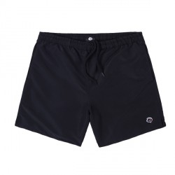 SHORT MAGENTA NYLON - BLACK