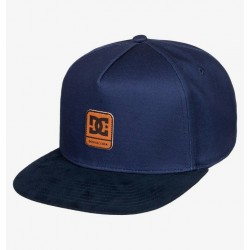 CASQUETTE DC SHOES BRACKERS BOY - HEATHER GREY BLACK