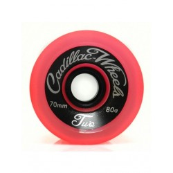 ROUES CADILLAC CLASSIC TWO 70MM 80A - RED